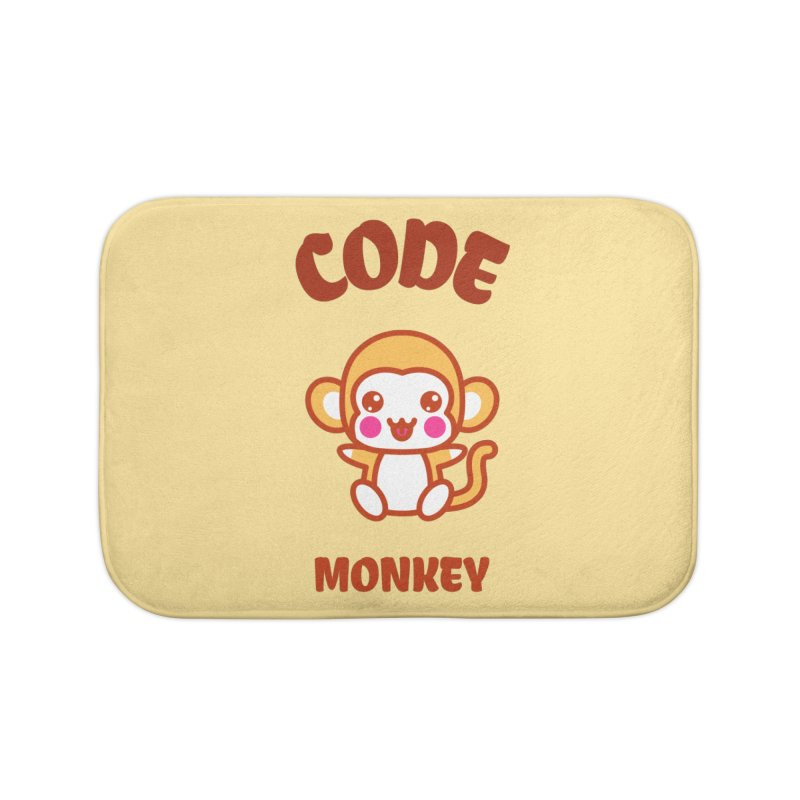 Code Monkey Home Bath Mat by Women in Technology Online Store