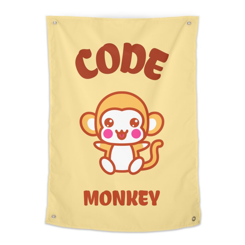 Code Monkey Home Tapestry by Women in Technology Online Store