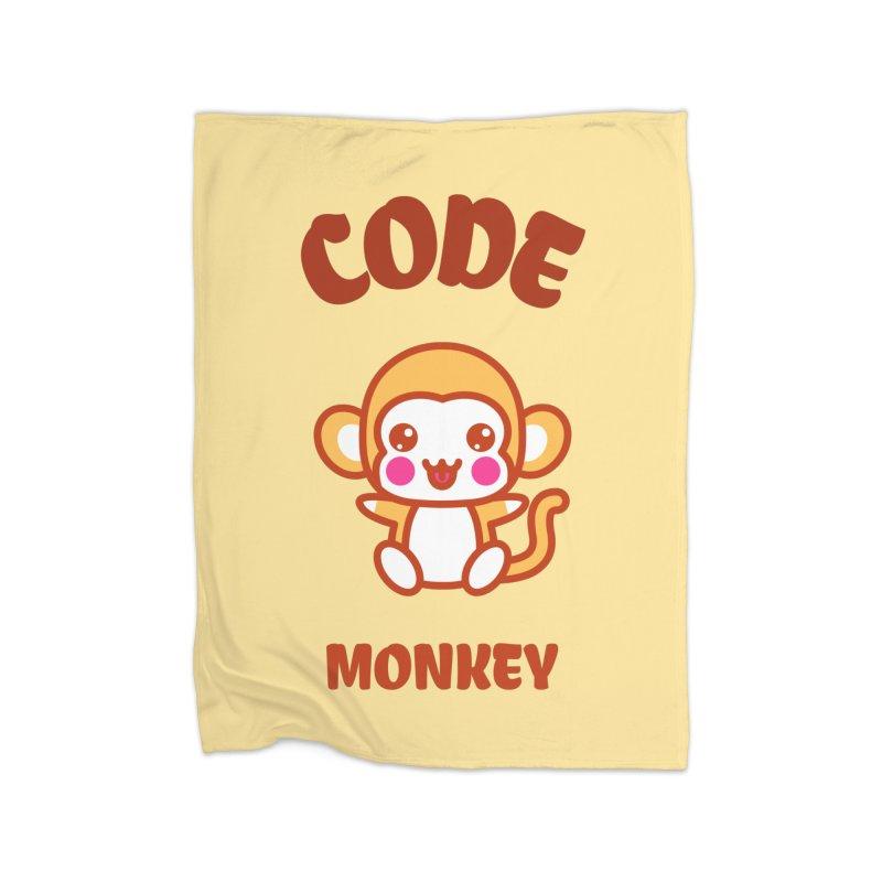 Code Monkey Home Blanket by Women in Technology Online Store