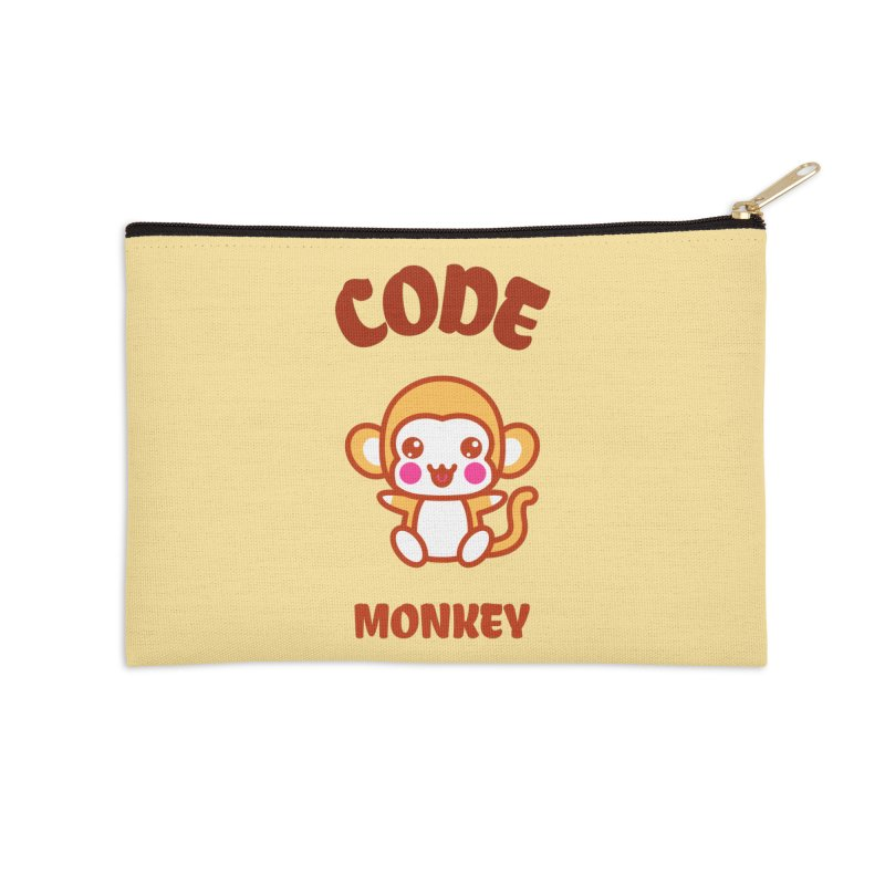 Code Monkey Accessories Zip Pouch by Women in Technology Online Store