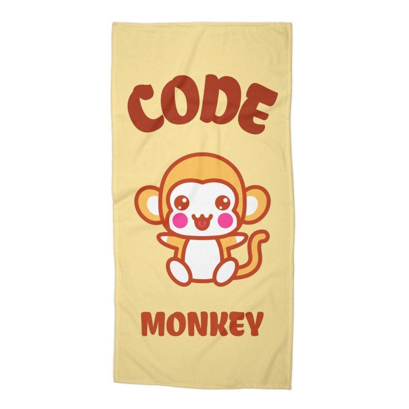 Code Monkey Accessories Beach Towel by Women in Technology Online Store