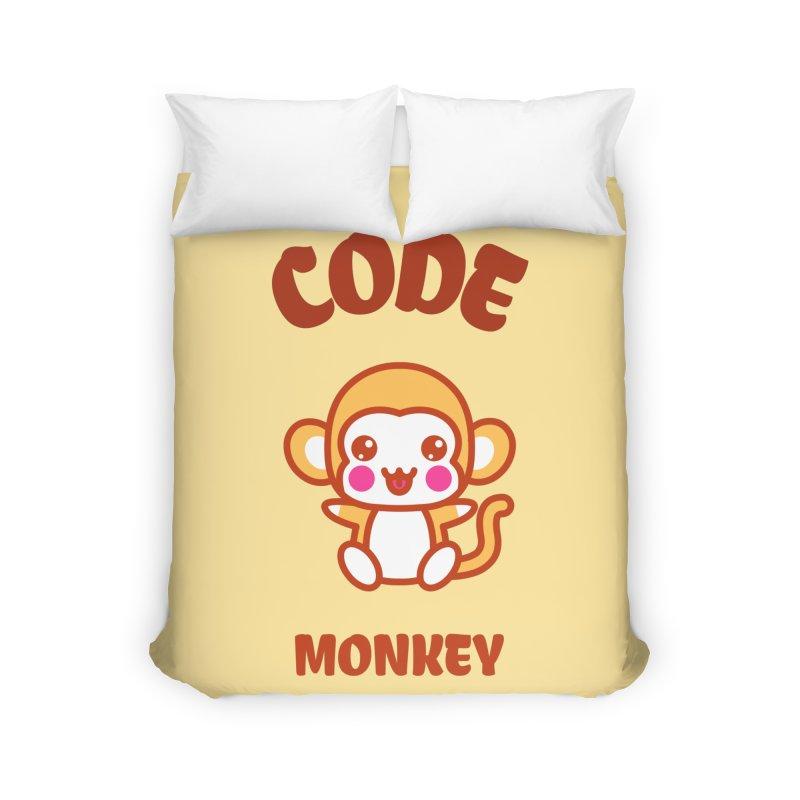 Code Monkey Home Duvet by Women in Technology Online Store