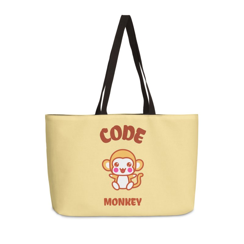 Code Monkey Accessories Weekender Bag Bag by Women in Technology Online Store