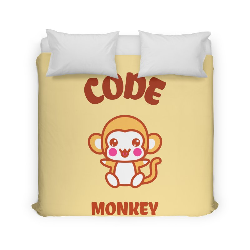 Code Monkey Home Duvet by Women in Technology Online Store