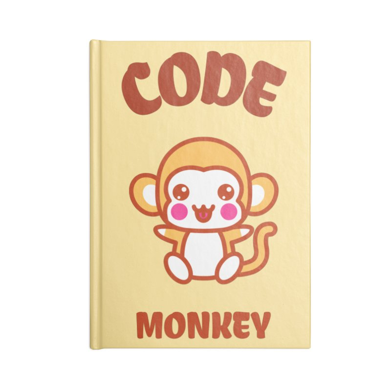 Code Monkey Accessories Lined Journal Notebook by Women in Technology Online Store