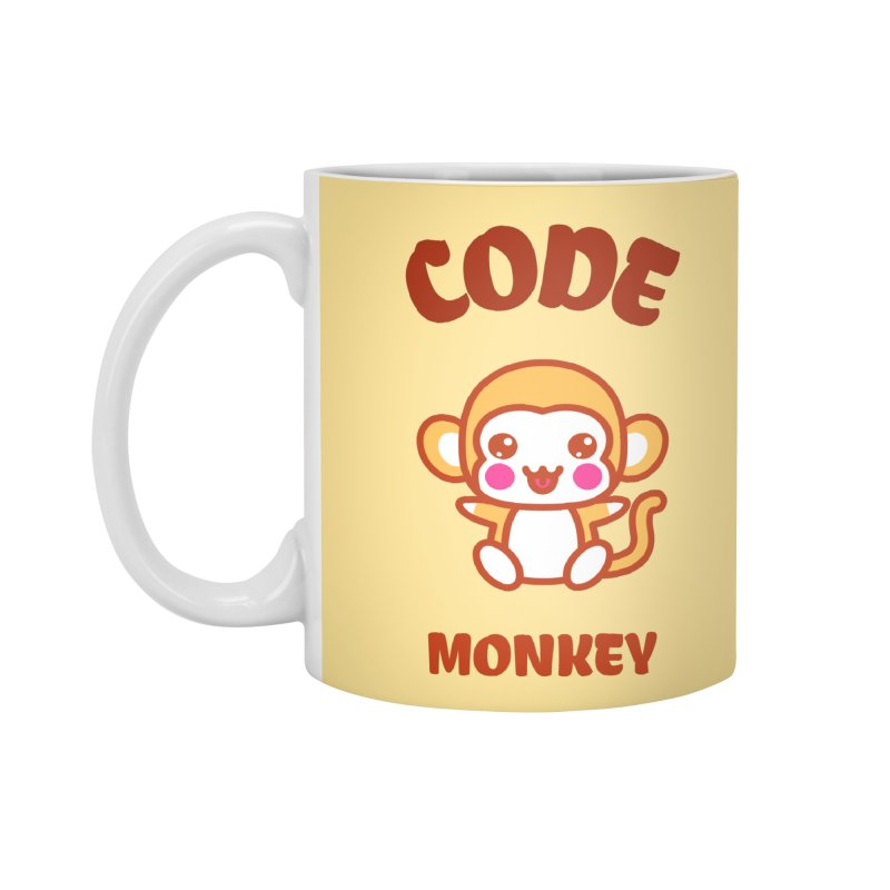 Code Monkey Accessories Standard Mug by Women in Technology Online Store