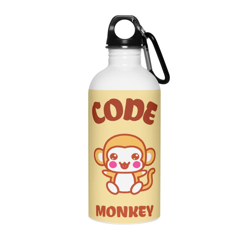 Code Monkey Accessories Water Bottle by Women in Technology Online Store