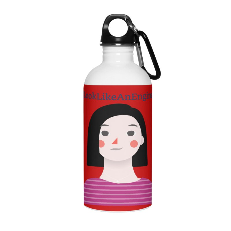 #ILookLikeAnEngineer with a female avatar Accessories Water Bottle by Women in Technology Online Store