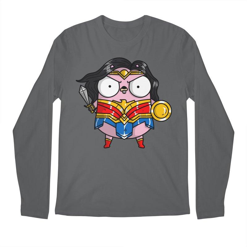 Wonder Gopher Men's Longsleeve T-Shirt by Women Who Go