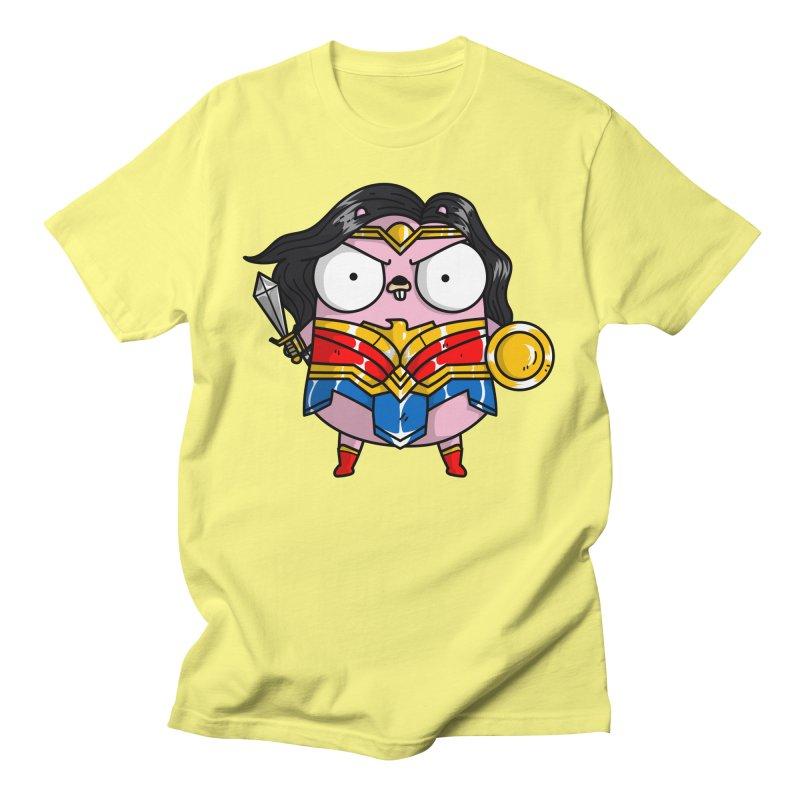 Wonder Gopher Men's T-Shirt by Women Who Go