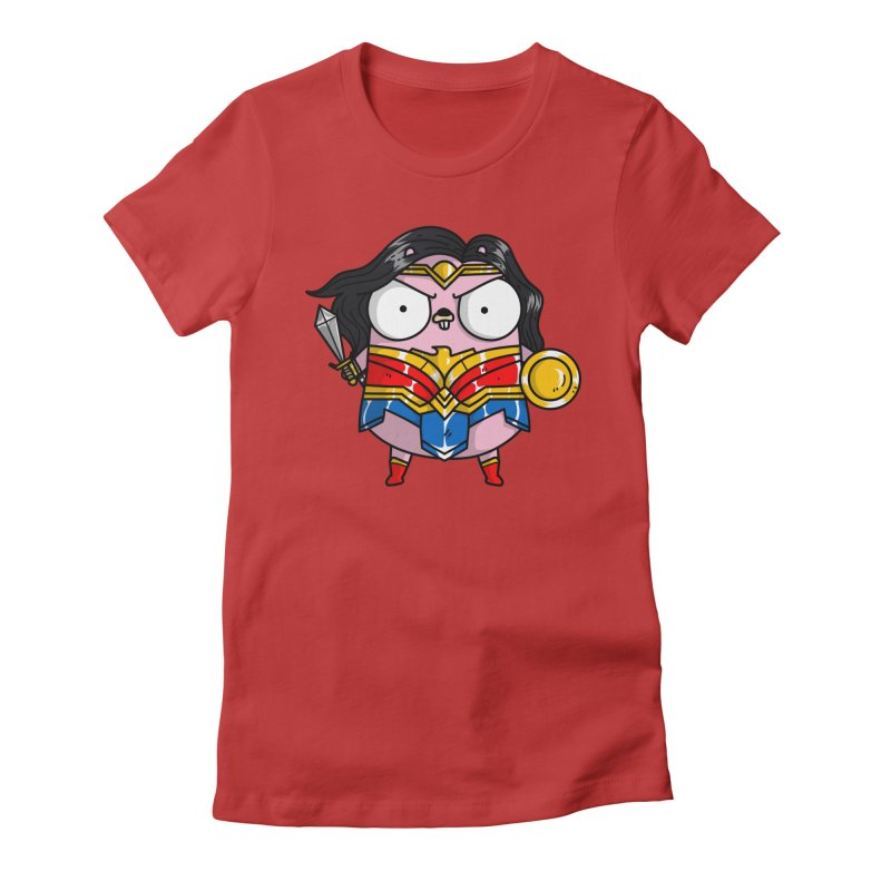 Wonder Gopher Women's T-Shirt by Women Who Go