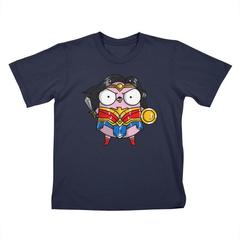 Wonder Gopher Kids T-Shirt by Women Who Go