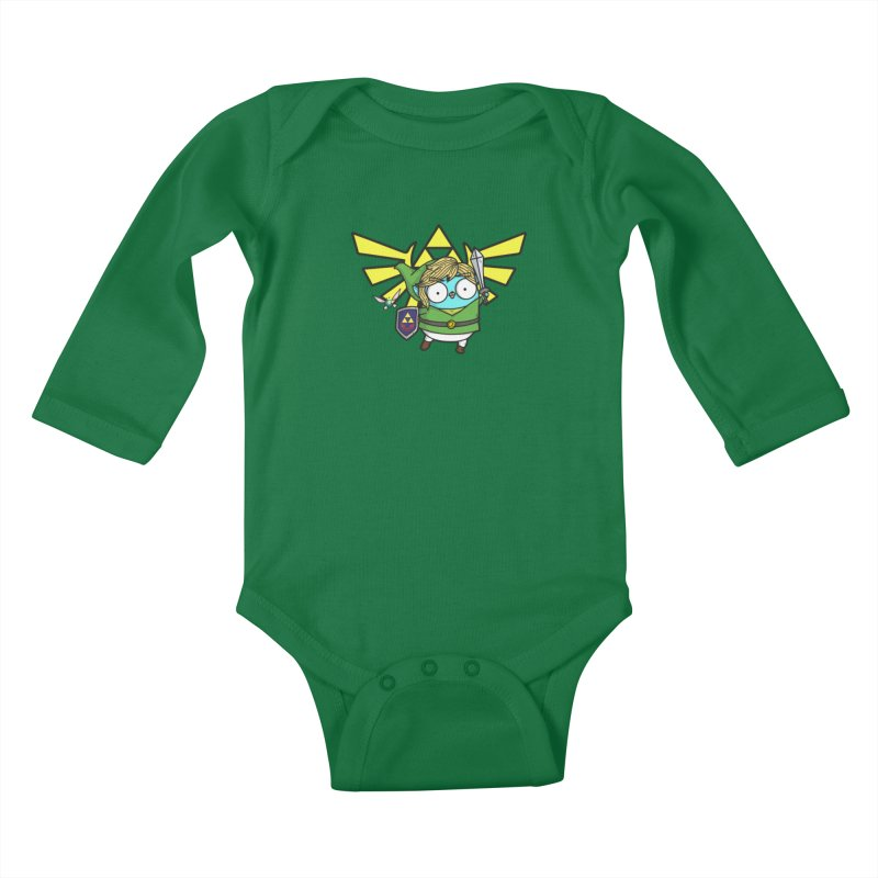 Legendary Gopher Kids Baby Longsleeve Bodysuit by Women Who Go