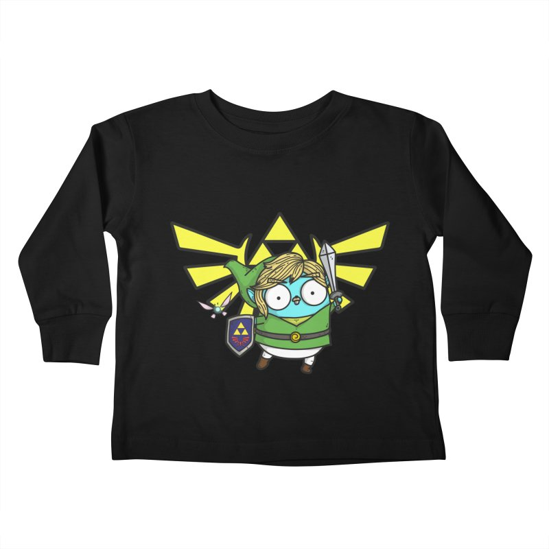 Legendary Gopher Kids Toddler Longsleeve T-Shirt by Women Who Go