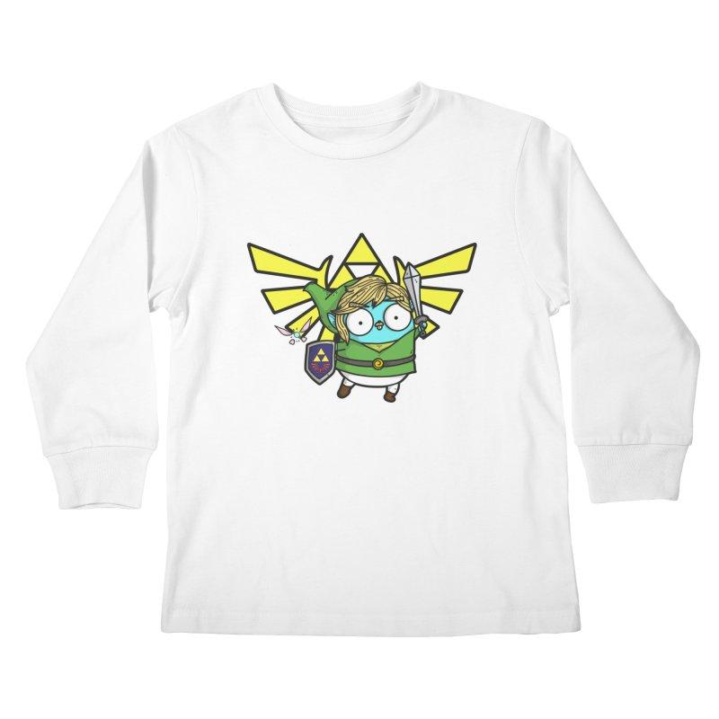 Legendary Gopher Kids Longsleeve T-Shirt by Women Who Go
