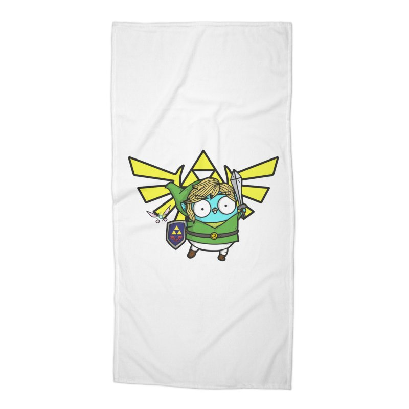 Legendary Gopher Accessories Beach Towel by Women Who Go
