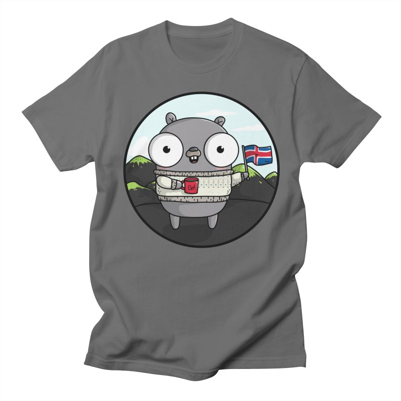 GopherCon Iceland Men's T-Shirt by Women Who Go