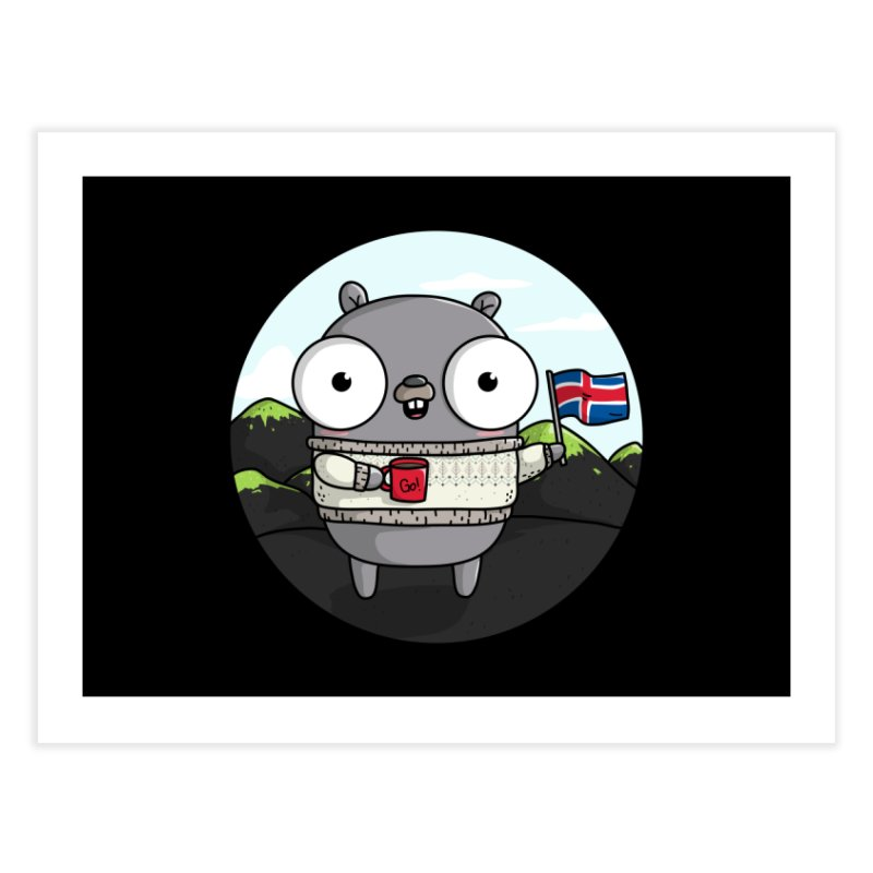 GopherCon Iceland Home Fine Art Print by Women Who Go