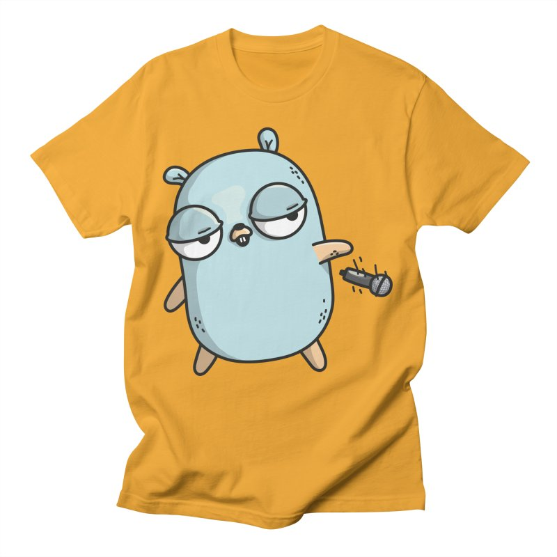 Gopher Drop Men's T-Shirt by Women Who Go