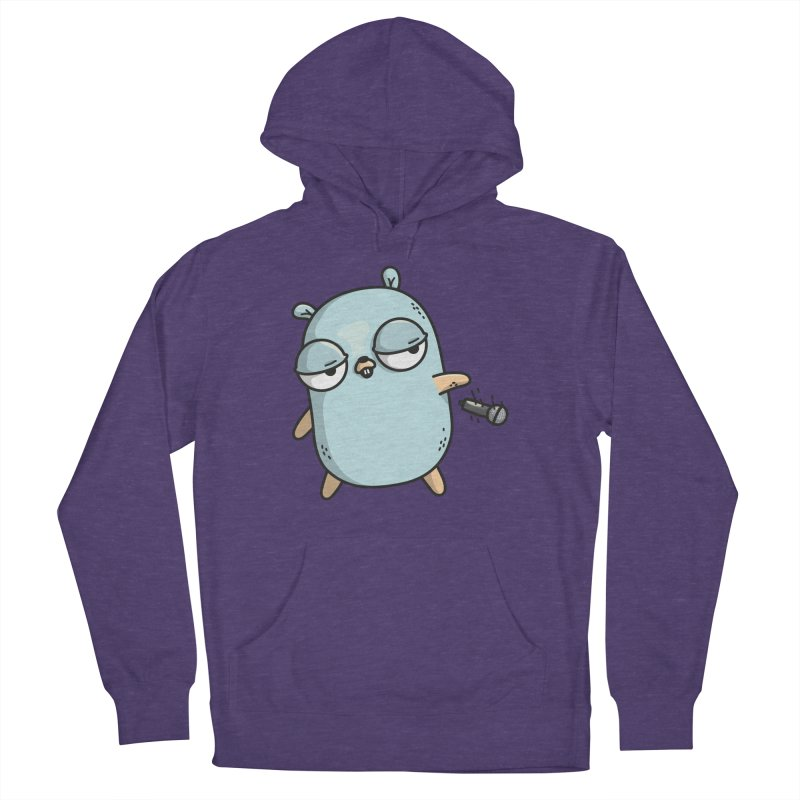Gopher Drop Men's Pullover Hoody by Women Who Go