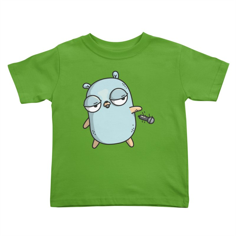 Gopher Drop Kids Toddler T-Shirt by Women Who Go
