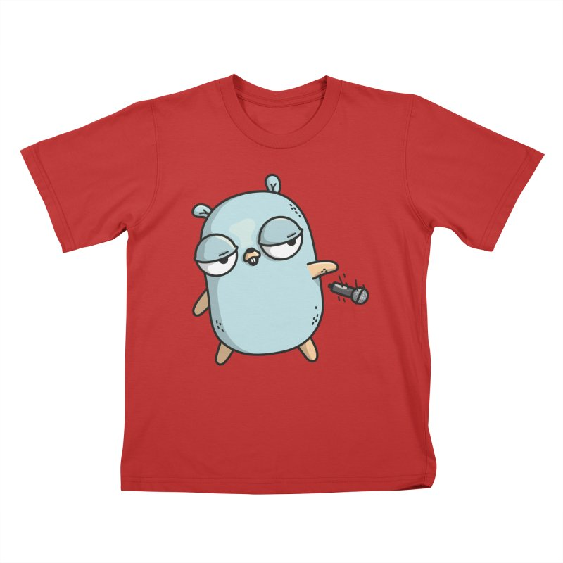 Gopher Drop Kids T-Shirt by Women Who Go