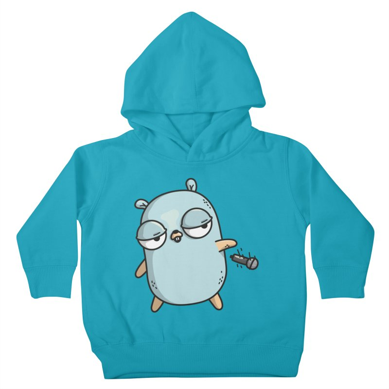 Gopher Drop Kids Toddler Pullover Hoody by Women Who Go