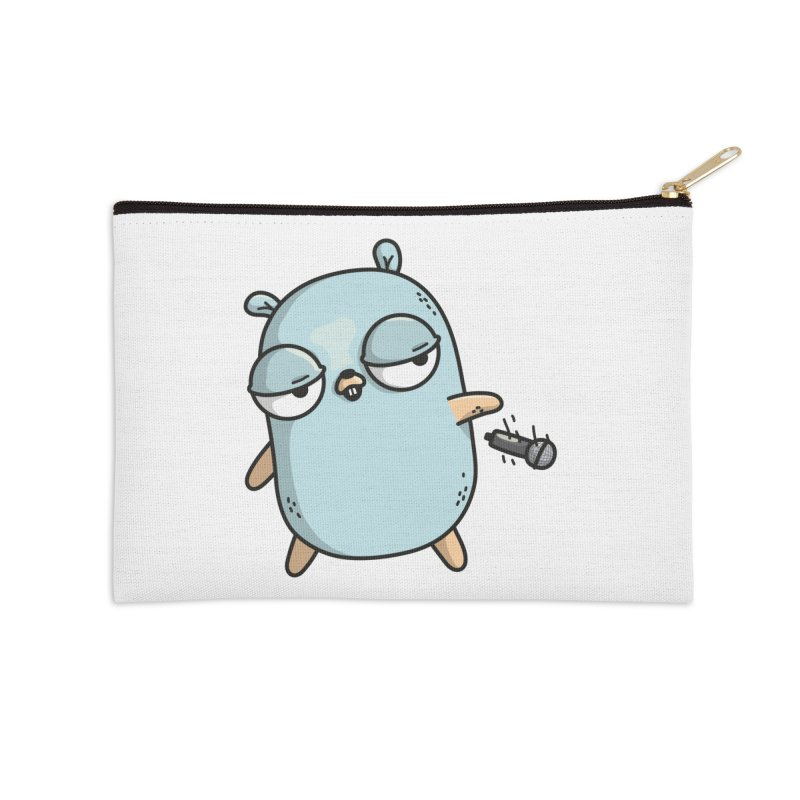 Gopher Drop Accessories Zip Pouch by Women Who Go