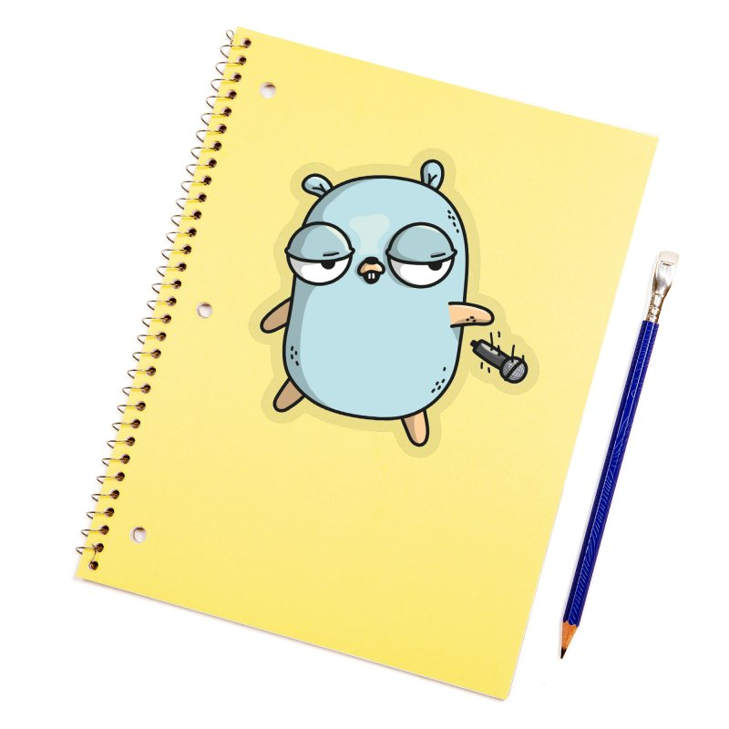 Gopher Drop Accessories Sticker by Women Who Go