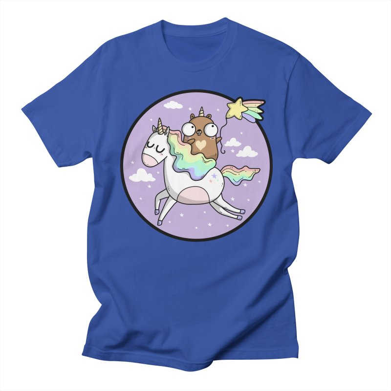 Unicorn Gopher Men's T-Shirt by Women Who Go