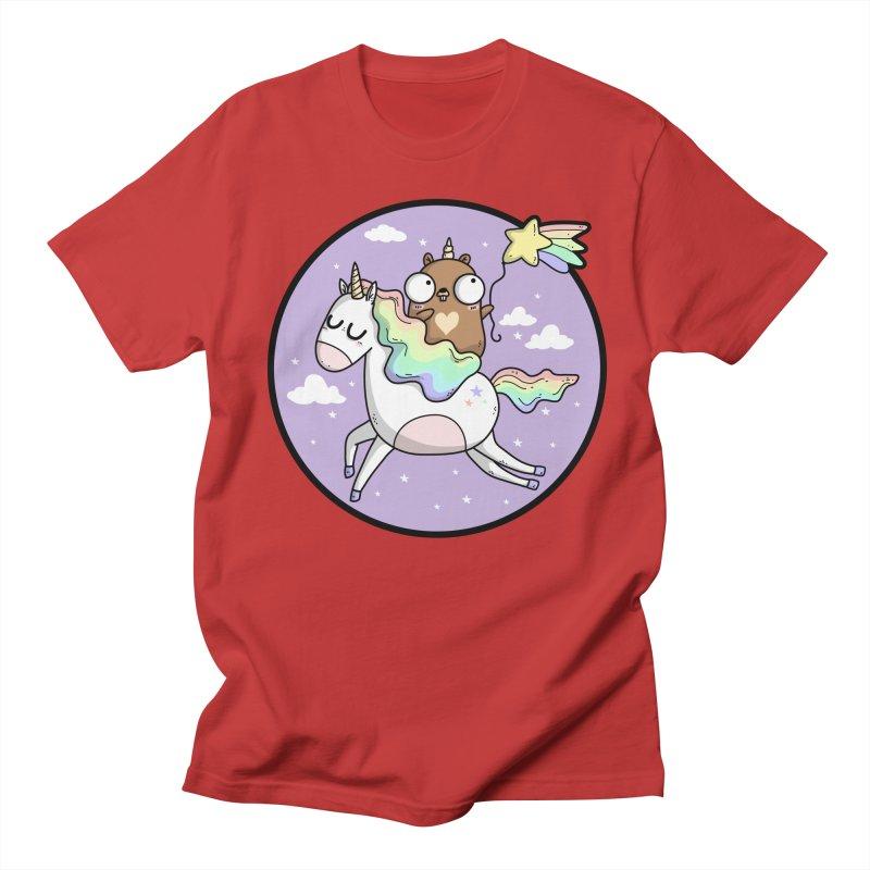 Unicorn Gopher Men's T-Shirt by Women Who Go