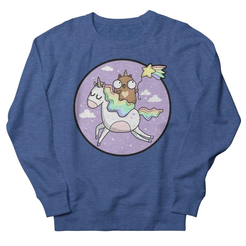 Unicorn Gopher Men's Sweatshirt by Women Who Go