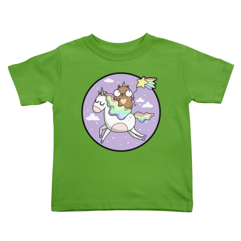 Unicorn Gopher Kids Toddler T-Shirt by Women Who Go