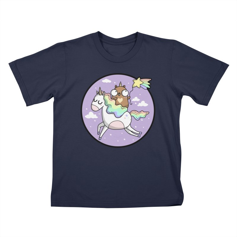 Unicorn Gopher Kids T-Shirt by Women Who Go