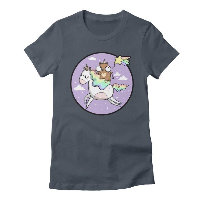 Unicorn Gopher Women's T-Shirt by Women Who Go