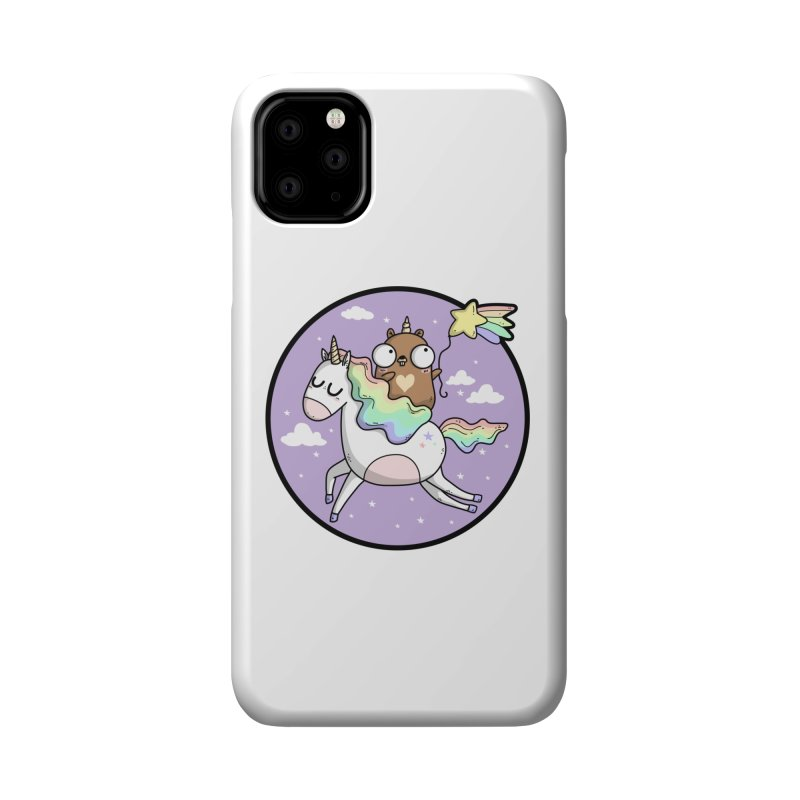 Unicorn Gopher Accessories Phone Case by Women Who Go