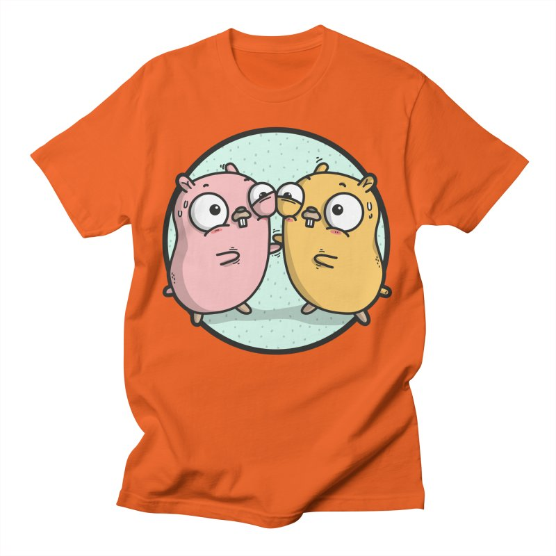 Gopher Hugs Men's T-Shirt by Women Who Go