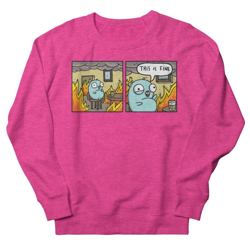 This is Fine Gopher Men's Sweatshirt by Women Who Go