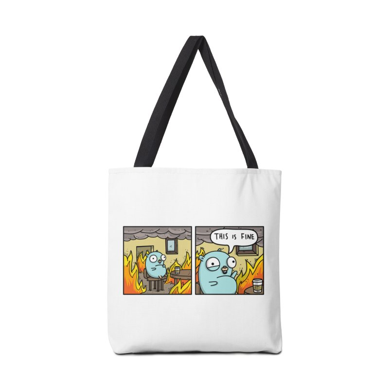 This is Fine Gopher Accessories Bag by Women Who Go