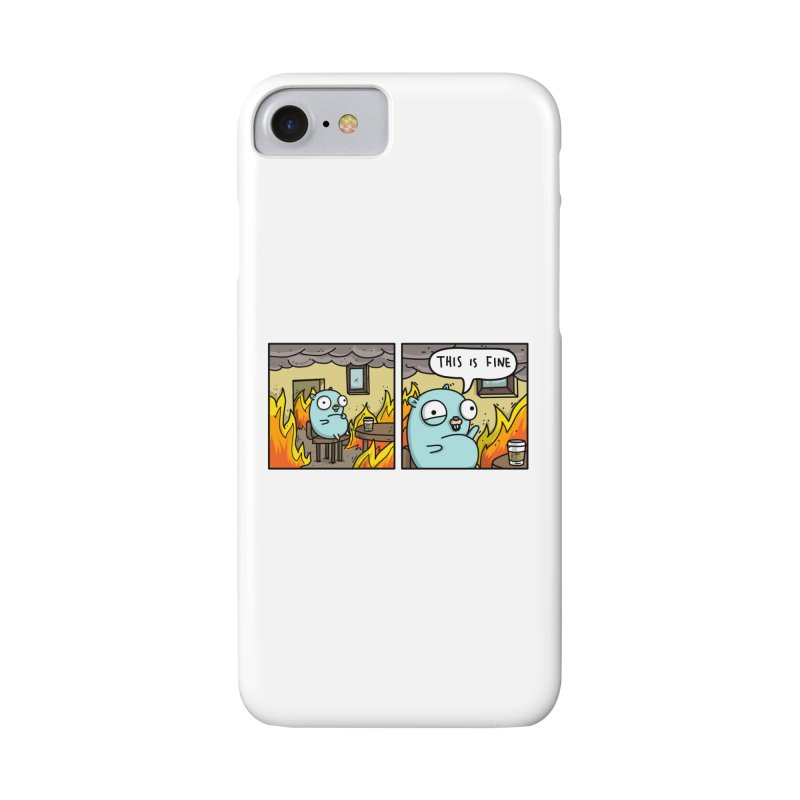 This is Fine Gopher Accessories Phone Case by Women Who Go