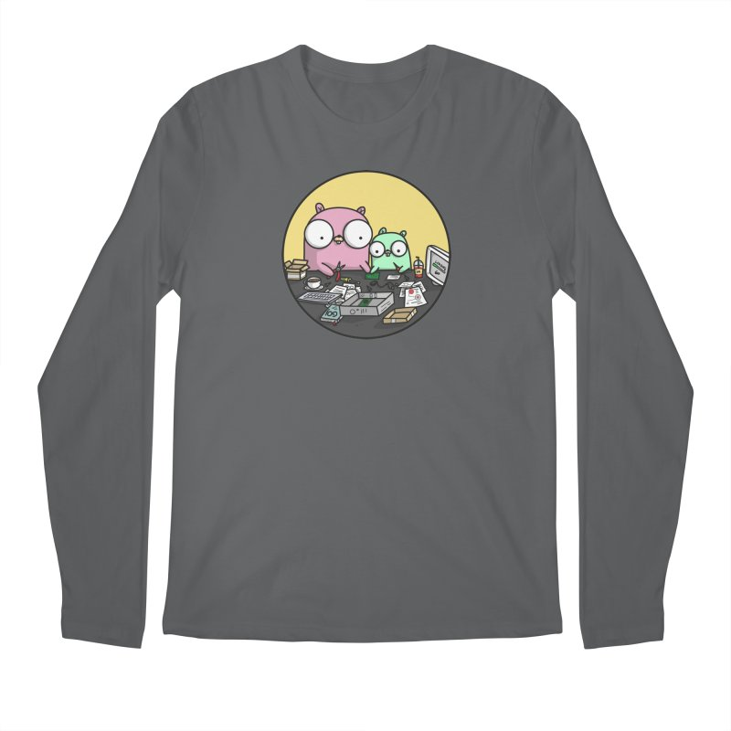 Mother & Child Gopher Men's Longsleeve T-Shirt by Women Who Go