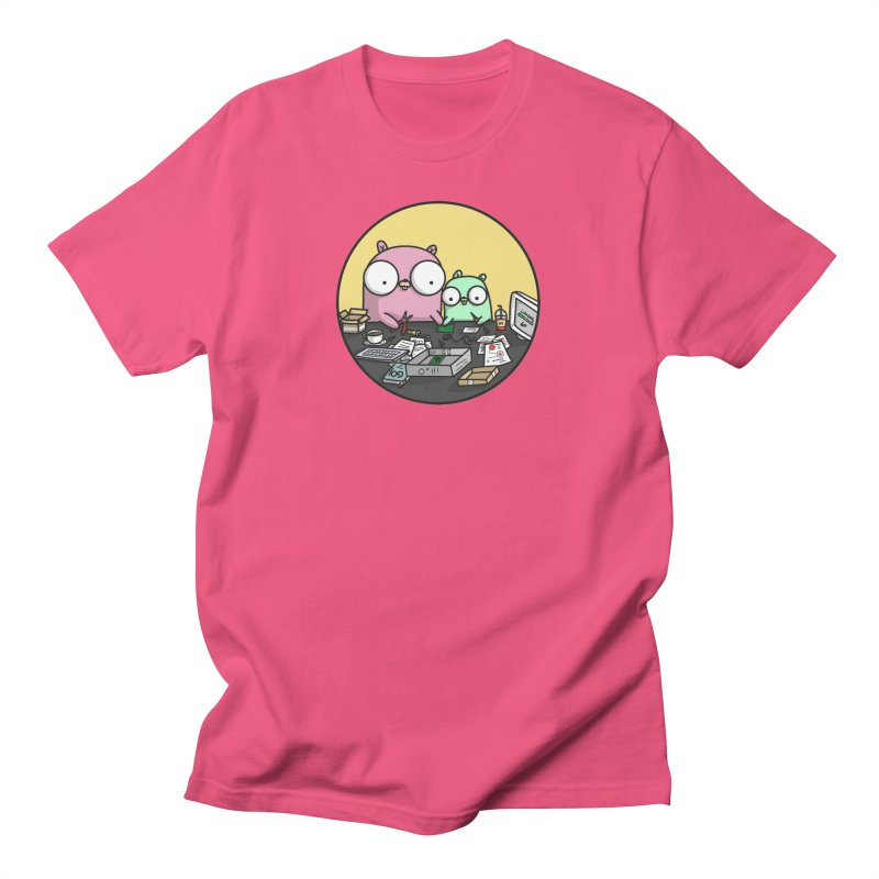 Mother & Child Gopher Men's T-Shirt by Women Who Go