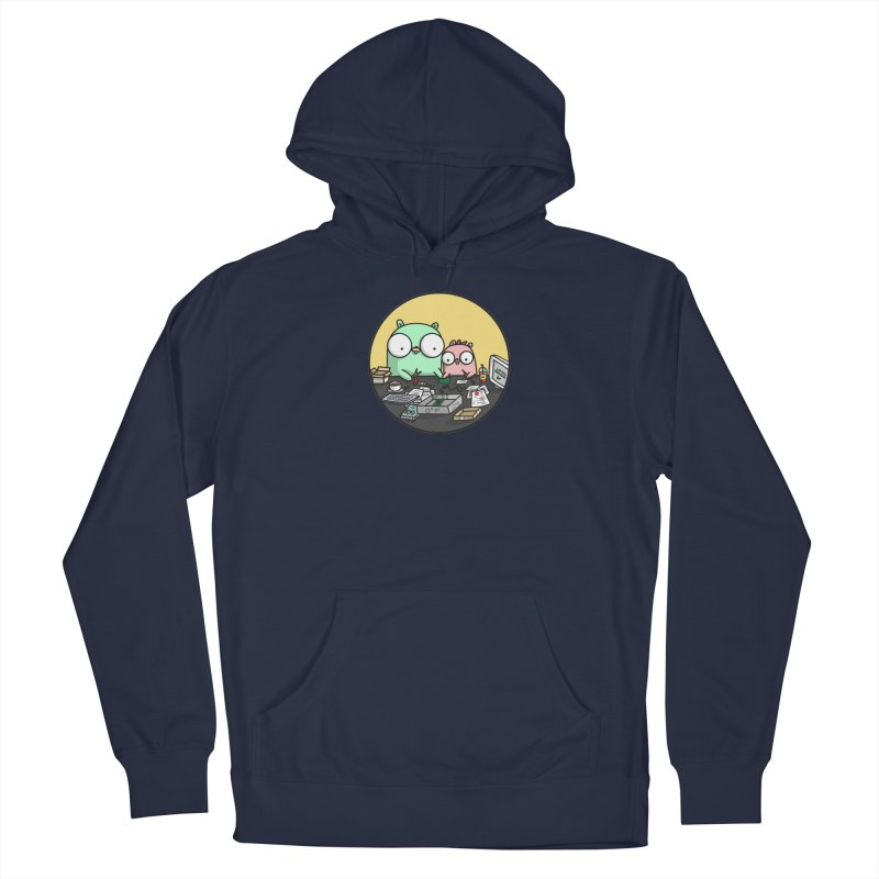 Father & Daughter Gopher Men's Pullover Hoody by Women Who Go