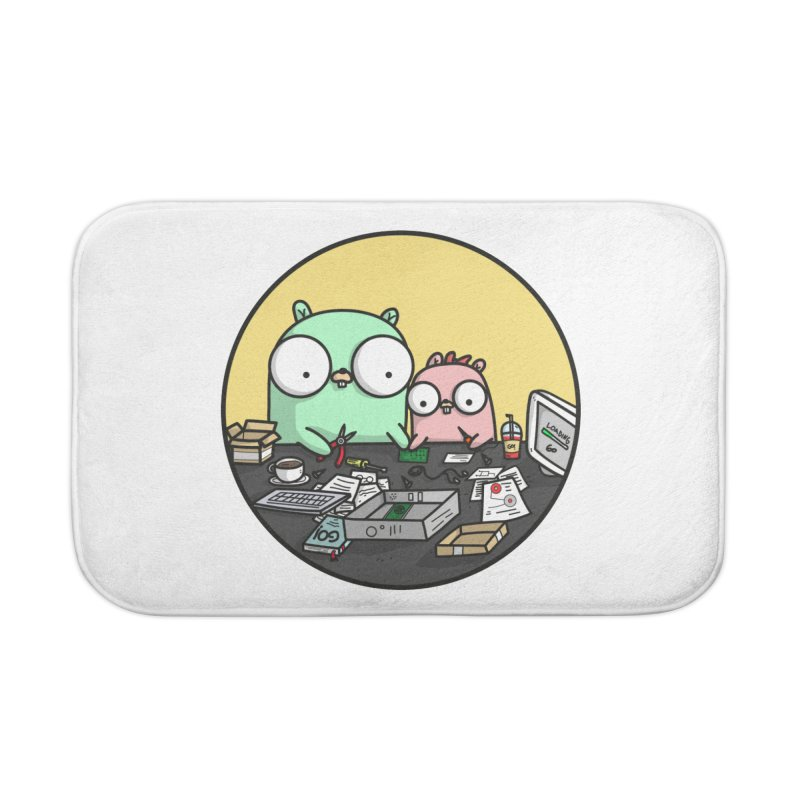 Father & Daughter Gopher Home Bath Mat by Women Who Go