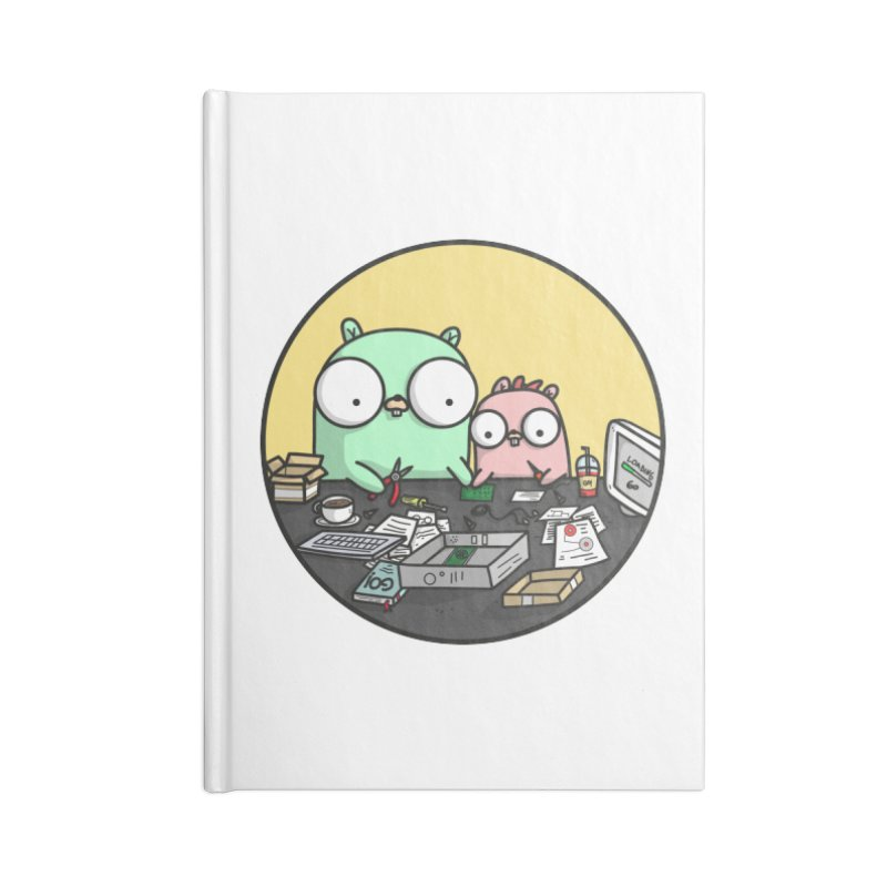 Father & Daughter Gopher Accessories Notebook by Women Who Go