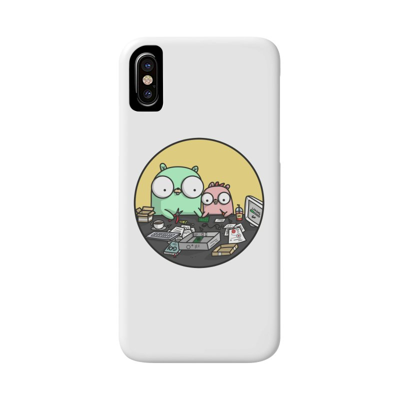 Father & Daughter Gopher Accessories Phone Case by Women Who Go