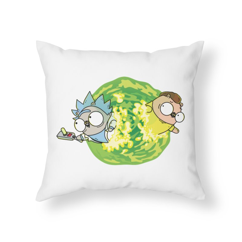 Rick   Gopher Home Throw Pillow by Women Who Go 9011be8bf