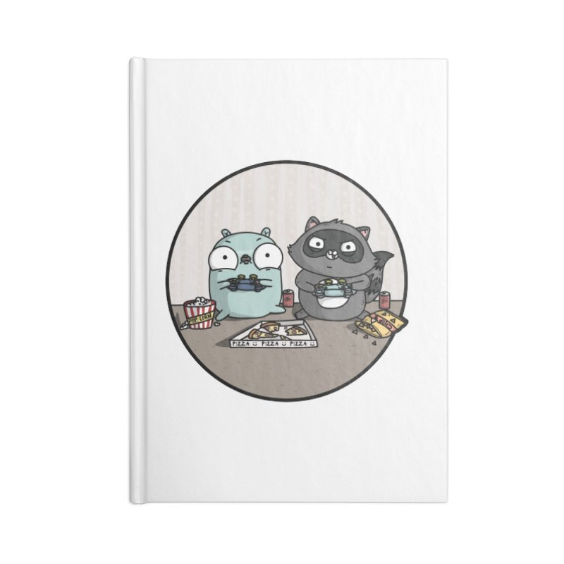 Gaming Gopher Accessories Blank Journal Notebook by Women Who Go