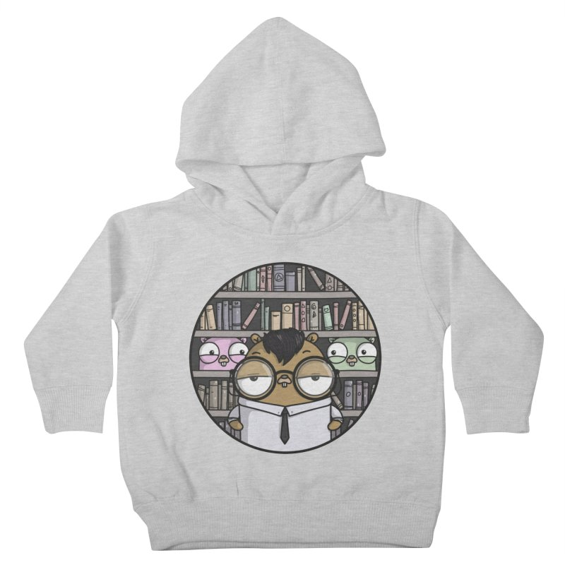 Nerdy Gopher Kids Toddler Pullover Hoody by Women Who Go