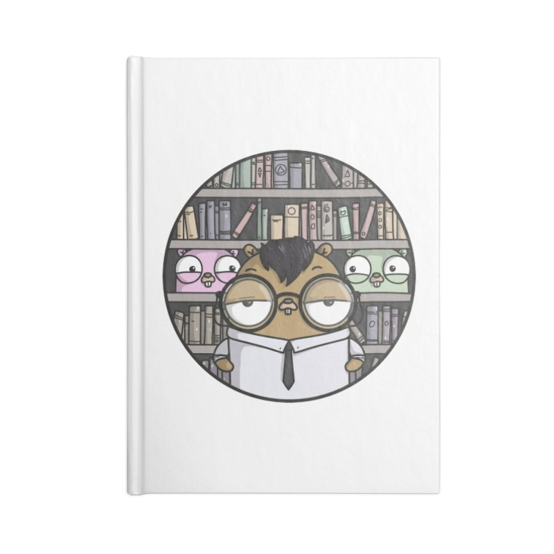 Nerdy Gopher Accessories Blank Journal Notebook by Women Who Go